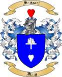 Sanzari Family Coat of Arms from Italy