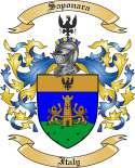 Saponara Family Coat of Arms from Italy