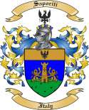 Saporiti Family Coat of Arms from Italy