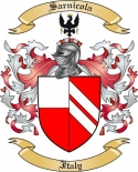Sarnicola Family Crest from Italy