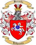 Sarocka Family Coat of Arms from Lithuania