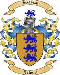 Sassian Family Crest from Estonia
