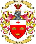 Saucedo Family Coat of Arms from Spain