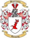 Sauernson Family Crest from Germany
