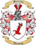 Saurson Family Crest from Germany