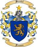 Sautel Family Coat of Arms from France