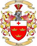 Sauzal Family Coat of Arms from Spain
