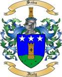 Sava Family Coat of Arms from Italy