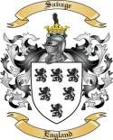Savage Family Coat of Arms from England