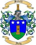Savelli Family Crest from Italy