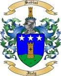 Savini Family Coat of Arms from Italy2