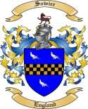 Sawier Family Coat of Arms from England