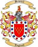 Sawtell Family Coat of Arms from England2