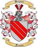 Saymer Family Crest from France