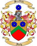 Scaffidi Family Coat of Arms from Italy