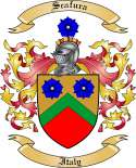 Scafura Family Coat of Arms from Italy