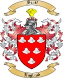 Scaif Family Coat of Arms from England