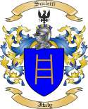 Scaletti Family Coat of Arms from Italy