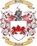 Scallin Family Coat of Arms from Ireland