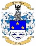 Scardina Family Crest from Italy