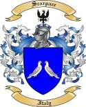 Scarpace Family Coat of Arms from Italy
