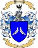 Scarpelli Family Coat of Arms from Italy