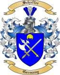Schaffer Family Crest from Germany4