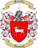 Schaffer Family Crest from Germany5