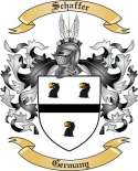 Schaffer Family Crest from Germany