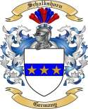 Schalkshorn Family Coat of Arms from Germany