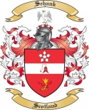 Schank Family Crest from Scotland