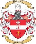 Schankis Family Coat of Arms from Scotland