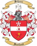 Schanx Family Coat of Arms from Scotland