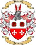 Schauer Family Crest from Germany
