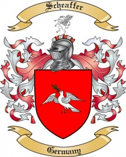 Scheaffer Family Crest from Germany3