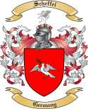 Scheffel Family Crest from Germany