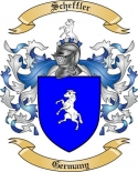 Scheffler Family Crest from Germany2