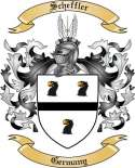 Scheffler Family Coat of Arms from Germany