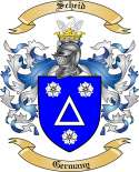 Scheid Family Crest from Germany