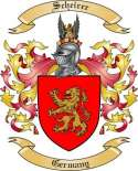 Scheirer Family Crest from Germany