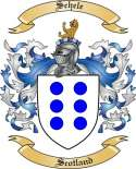 Schele Family Coat of Arms from Scotland