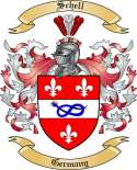 Schell Family Coat of Arms from Germany2