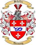 Scheller Family Coat of Arms from Germany2