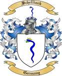 Schellinck Family Crest from Germany