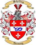Schelling Family Crest from Germany2