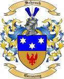 Schenck Family Crest from Germany2