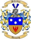 Schenken Family Coat of Arms from Germany2