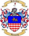 Schenken Family Coat of Arms from Germany