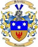 Schenker Family Crest from Germany2
