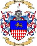 Schenker Family Coat of Arms from Germany